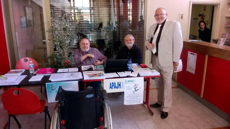 Photos et interview: 7ème Forum du handicap de l